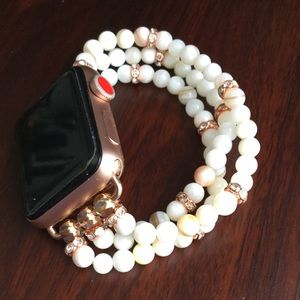 Accessories - 38mm Apple Watch Band Bracelet w Mother of Pearl
